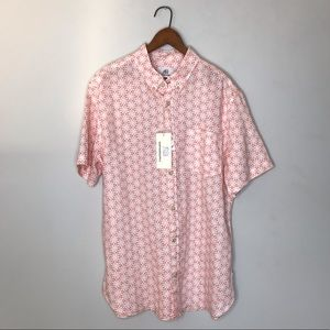 SURFSIDESUPPLY short sleeve button down, 100%Linen